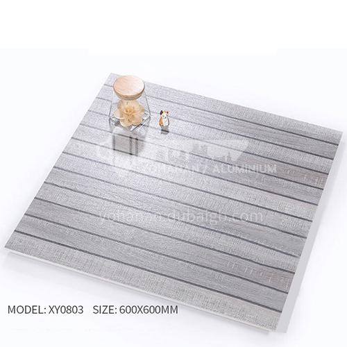American ceramic tile, retro mold, antique wood grain tile, villa courtyard bumpy non-slip floor   tile-AWMXY0803 600×600mm