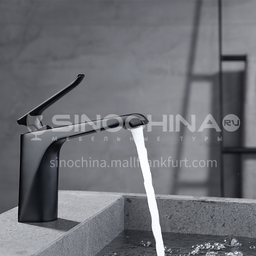 2020 new style full copper bathroom cabinet faucet with short feet KSH-2702B