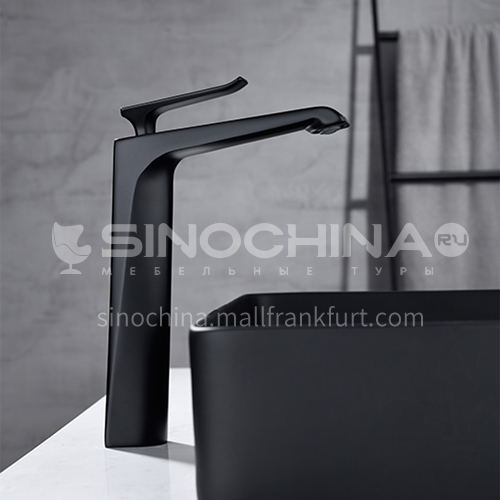2020 new release of unique design high-foot above counter basin special copper ceramic valve core faucet KSH-2701B