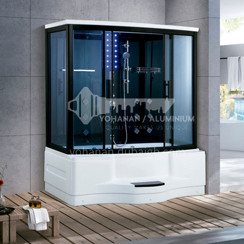 Deluxe steam room, shower room with bathtub, toilet bathroom, integrated steam room AO-8121