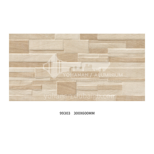 Ceramic tile culture stone outer wall tile balcony living room TV background wall tile dining room wall tile-ADN99303 300mm*600mm