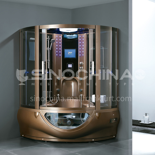Luxury steam room integral shower room toilet bathroom integrated steam room AO-8107