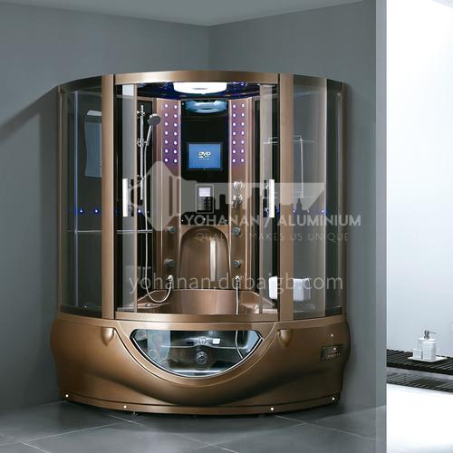 Luxury steam room integral shower room toilet bathroom integrated steam room AO-8107