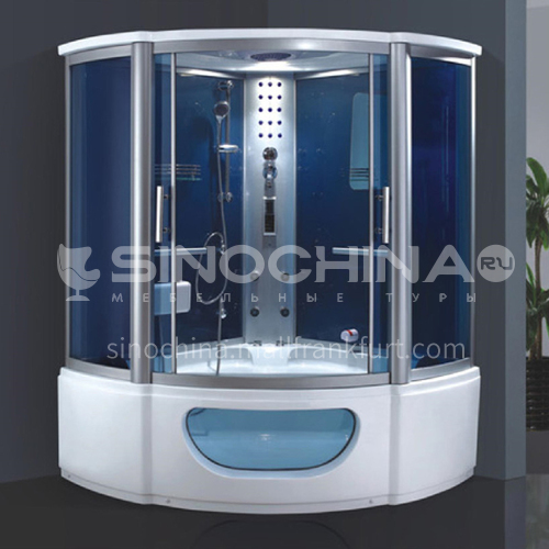 Luxury steam room integral shower room toilet bathroom integrated steam room AO-8114