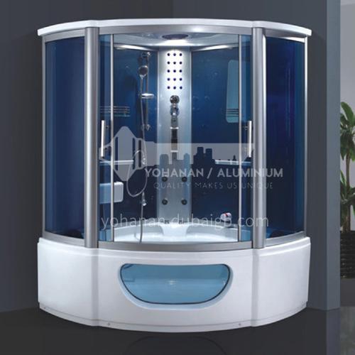Luxury steam room integral shower room toilet bathroom integrated steam room AO-8114