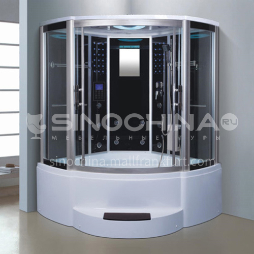 Luxury steam room integral shower room toilet bathroom integrated steam room AO-8115