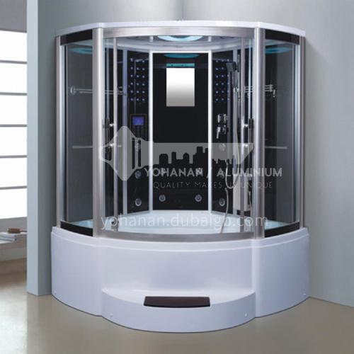 Luxury steam room integral shower room toilet bathroom integrated steam room AO-8115