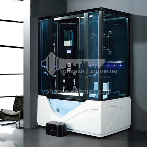 Luxury steam room integral shower room toilet bathroom integrated steam room AO-8123