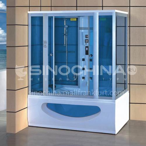 Luxury steam room integral shower room toilet bathroom integrated steam room AO-8124