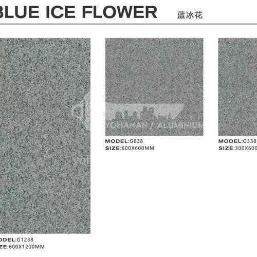 Garden villa rural courtyard floor tiles square non-slip whole body granite quartz stone tiles-  AWM Blue ice flower-300×600mm
