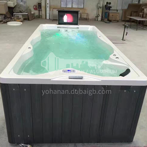Luxury hot spring pool massage pool hydrotherapy multi-person SPA massage surfing bathtub outdoor jacuzzi AO-6001