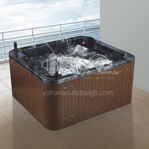 Luxury hot spring pool massage pool hydrotherapy multi-person SPA massage surfing bathtub outdoor jacuzzi AO-6004