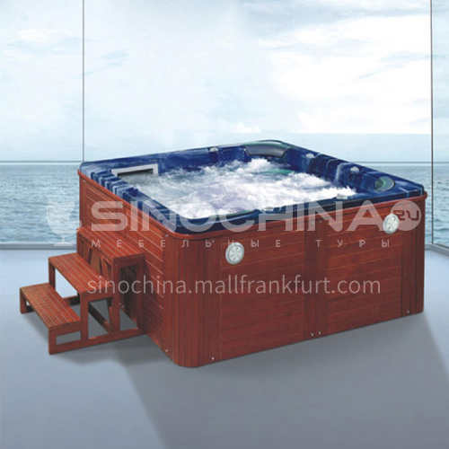 Luxury hot spring pool massage pool hydrotherapy multi-person SPA massage surfing bathtub outdoor jacuzzi AO-6005
