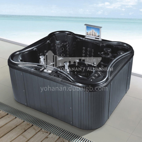 Luxury hot spring pool massage pool hydrotherapy multi-person SPA massage surfing bathtub outdoor jacuzzi AO-6006
