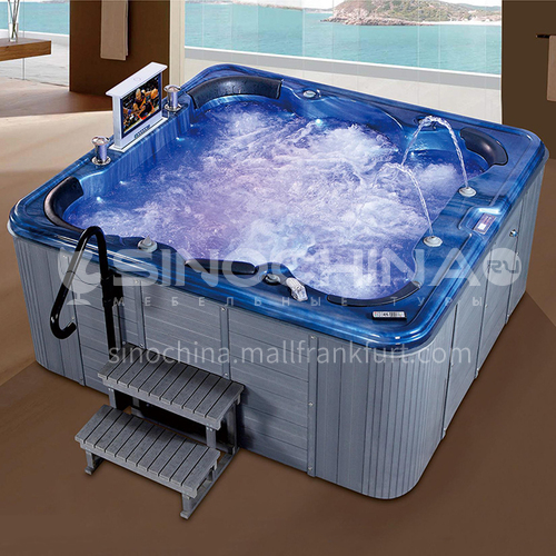 Luxury hot spring pool massage pool hydrotherapy multi-person SPA massage surfing bathtub outdoor jacuzzi AO-6008