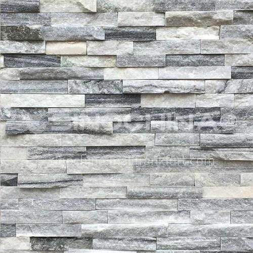 Cultural stone background wall natural stone mosaic wall brick outdoor villa outer wall brick running stone TV background wall-AWM-Dolomite 150mm*600mm