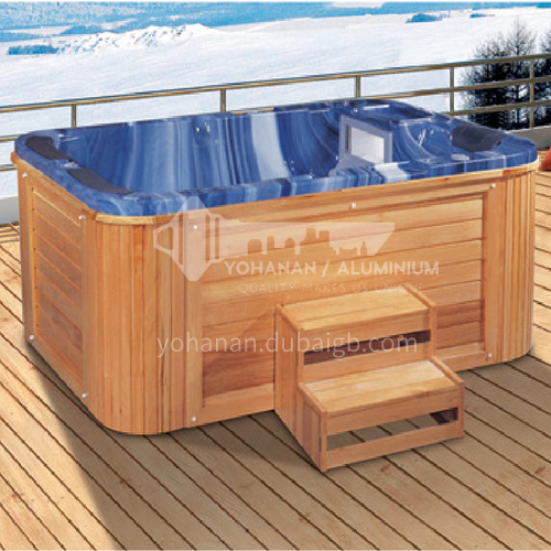 Luxury hot spring pool massage large pool hydrotherapy multi-person SPA massage surfing bathtub outdoor jacuzzi AO-6016
