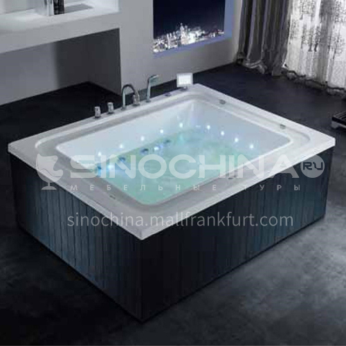 Luxury hot spring pool massage large pool hydrotherapy multi-person SPA massage surfing bathtub outdoor jacuzzi AO-6021
