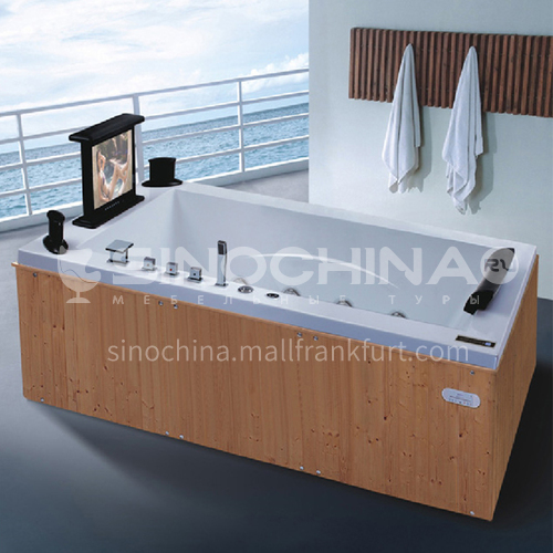 Luxury hot spring pool massage large pool hydrotherapy multi-person SPA massage surfing bathtub outdoor jacuzzi AO-6023