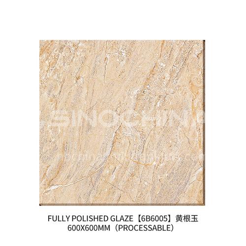 Export to Africa low-priced ceramic tiles, home improvement building materials, floor tiles-JLS6B6005 600×600mm