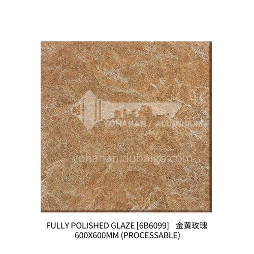 Export to Africa low-priced ceramic tiles, home improvement building materials, floor tiles-  JLS6B6099 600×600mm