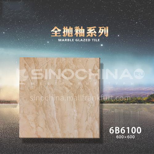 Export to Africa low-priced ceramic tiles, home improvement building materials, floor tiles-  JLS6B6100 600×600mm