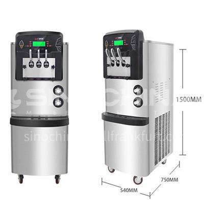 Goshen commercial ice cream machine ice cream machine commercial automatic cone ice cream machine ice cream machine with preservation  DQ001171