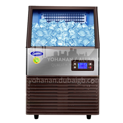Goshen Ice Maker Commercial Milk Tea Shop Fang Ice Fully Automatic Large Small Large Capacity Household Ice Maker Professional Commercial Ice Cube Machine 144 Cells  DQ001172