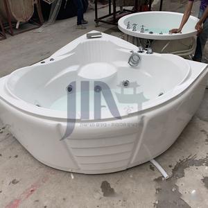 Acrylic corner surfing Jacuzzi bathtub against the wall Home triangular bathroom soaking bathtub AO-6170