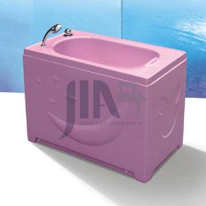 Indoor Hotel Home Freestanding Acrylic Baby Bathtub AO-B02