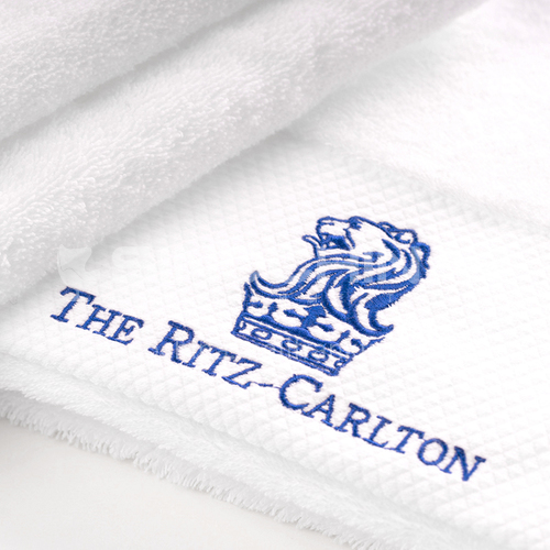 Five star hotel towel embroidery series DBK-5G