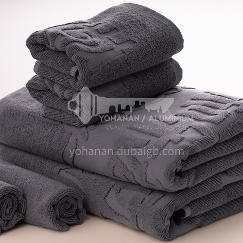 Hotel specific custom dyed towel BDK TS dye
