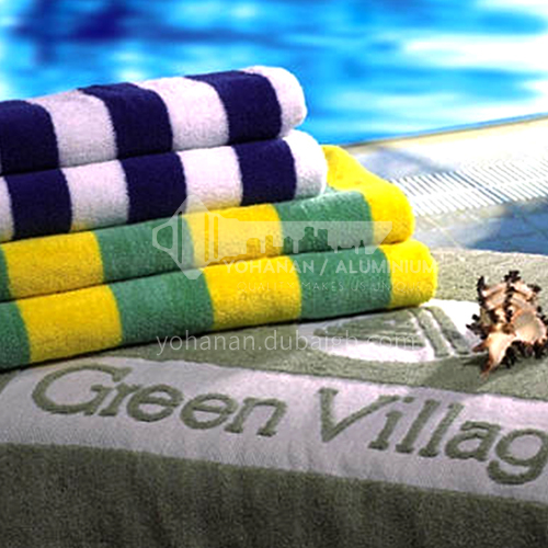 Hotel Swimming Pool Beach yarn dyed towel BDK-STRIP