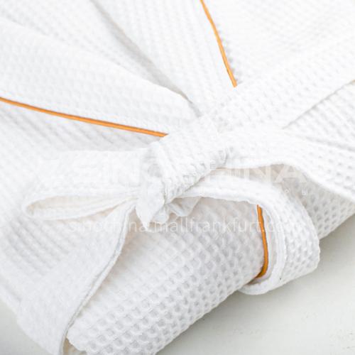 High quality hotel bathrobe 120cm waffle BDK-HY-BRB-W120W