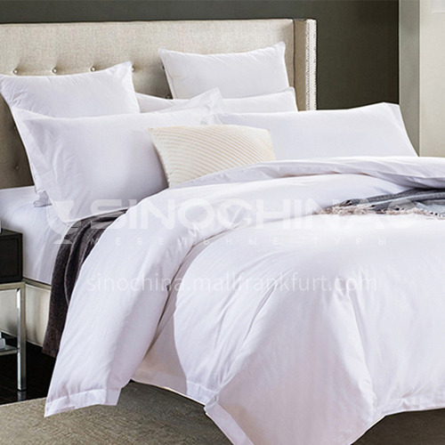 Four piece Satin bedding for Hotel BDK-NICE-Satin bed linen