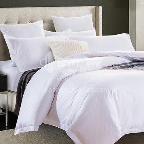 Four piece Satin bedding for Hotel BDK-NICE-Satin bed linen