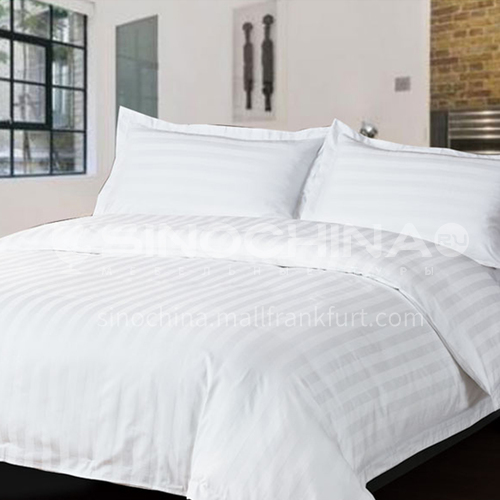 Hotel special high-grade stripe style bed set BDK-NICE-strip bed linen