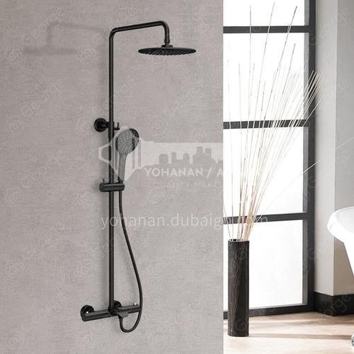 High-quality copper elegant black intelligent thermostatic shower / Hanmark Himark