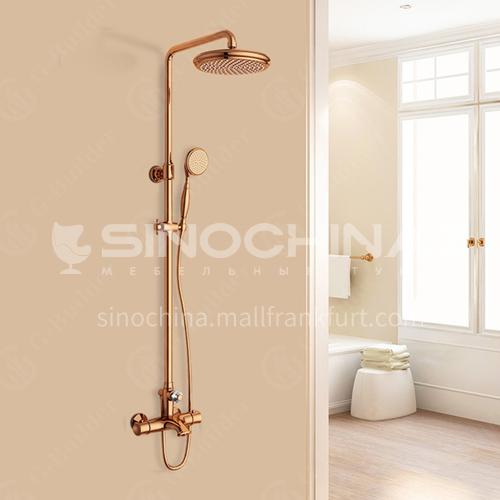 Hanmark HIMARK Smart Thermostatic Health Shower Fashion Classical Luxury Shower Set 1443416 Light Luxury Gold