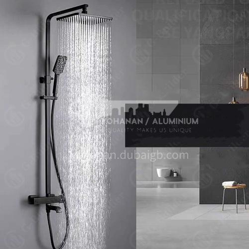 Hotel home bathroom black classic high quality thermostatic shower 50025A