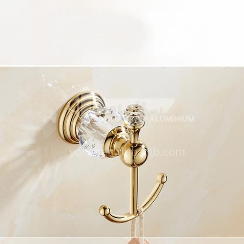 European classical single hook gold crystal hook80101SJ