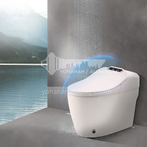 jet siphon type waterproof and moisture proof instant heat toilet   one button control smart toilet   Q9