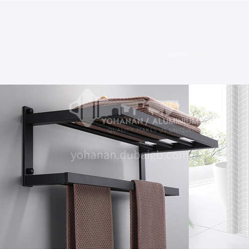 304 stainless steel single layer towel rack LW-QQ019