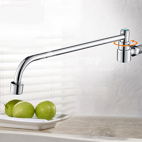 All copper in-wall swing faucet 20407A