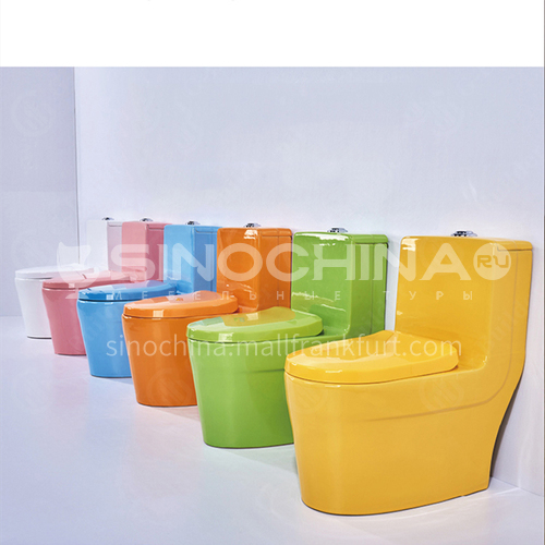 Color children's toilet pink white yellow green blue children's toilet