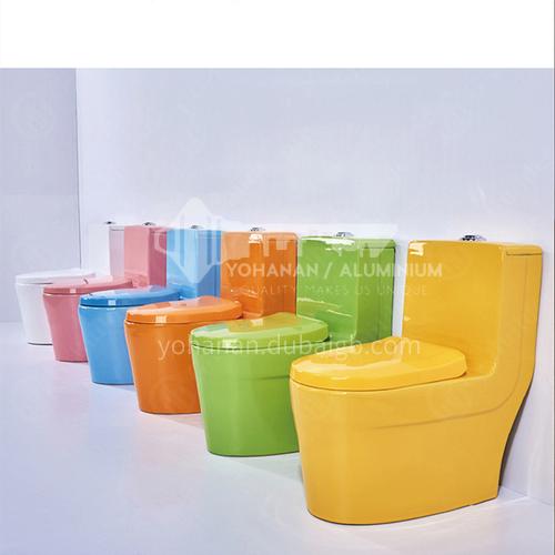 Color children's toilet pink white yellow green blue children's toilet