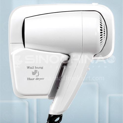 Hotel wall-hung hair dryer bathroom hair dryer