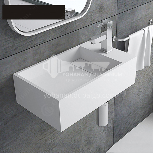 artificial stone  wall-hung  basin DP902