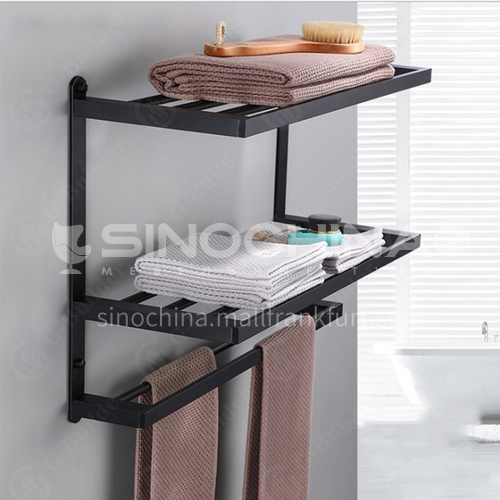 304 stainless steel double layer towel rack LW-QQ020