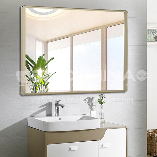 Aluminum frame bathroom mirror, bathroom vanity mirror, wall-mounted